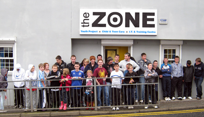 The Zone Outside Group Shot